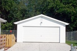 two car garage contractor des moines midwest builders of iowa