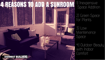 4 reasons to add a sunroom