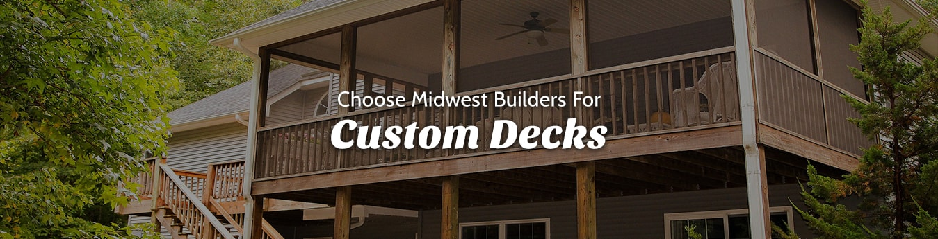 Custom Deck Builder Iowa