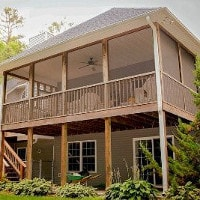 screened porches from Midwest Builders of Iowa